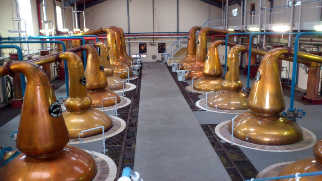 Glenfiddich Distillery Stills Hall
